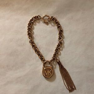 Beautiful MK rose gold bracelet